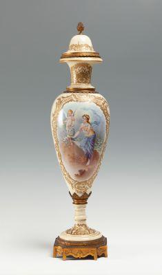 Gran jarrón Sèvres, siglo XIX.