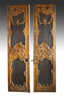 Pareja de puertas portuguesas de mediados del siglo XVI
