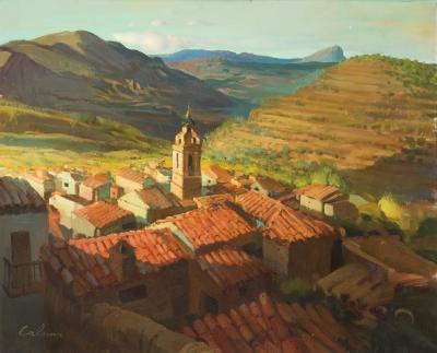 """""""Paisaje rural"""". CALSINA BARÓ, Ramón"""