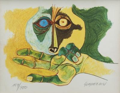 Oswaldo Guayasamín (Quito, Ecuador, 1919 – Baltimore, E.