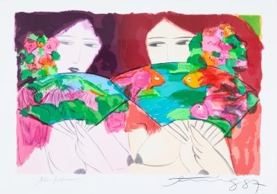 Walasse Ting (Shanghai, China, 1929 – Nueva York, EE.