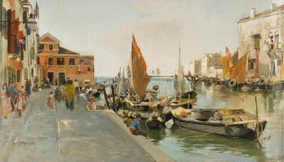 """""""Vistas de Venecia"""".  MARTÍN RICO ORTEGA"""