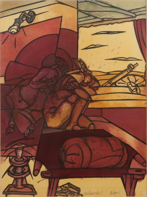 "ADAMI, Valerio. ""Il cavaliere (Metamorfosi)"", 2000."