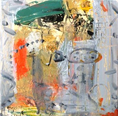 Lote: 35143885Fouad Abou Saada (Siria, 1946).Abstracto.
