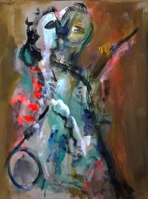 FOUAD ABOU SAADA (Siria, 1946).Baile.