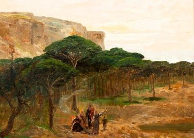 Escuela catalana del siglo XIX.
