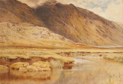 """""""Paisaje de Ronda"""", 1886. SÁNCHEZ PERRIER, Emilio"""