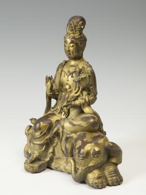 """""""Samantabhadra bodhisattva"""" Samantabhadra. China, pps. siglo XX."""