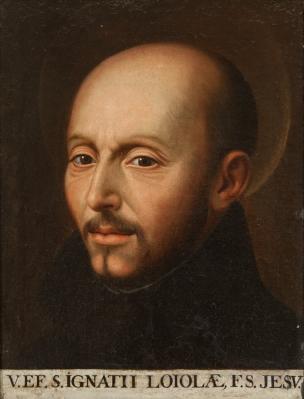"""""""San Ignacio de Loyola"""" SÁNCHEZ COELLO"""