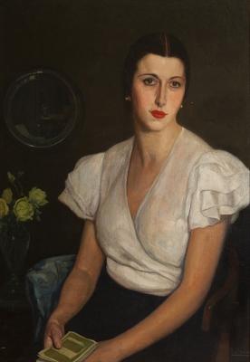 Francisco Llorens Díaz . Retrato de la sobrina del ar