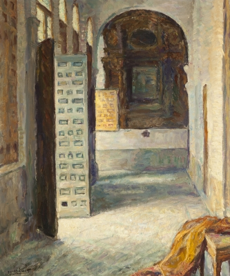 """""""Claustro con ventanal"""". Juan Luís López García"""