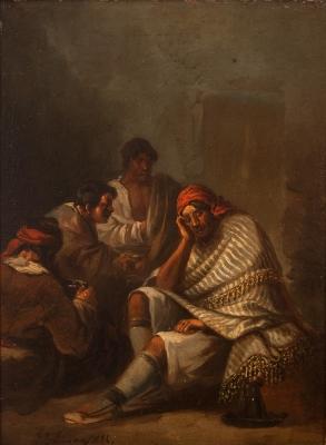 Eugenio Lucas Velázquez (Madrid, 1817 – 1870).