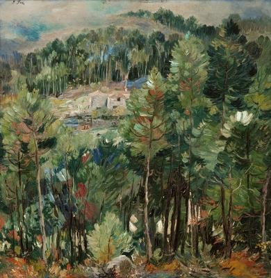"""""""Paisaje de Galicia"""", 1944. José Frau"""