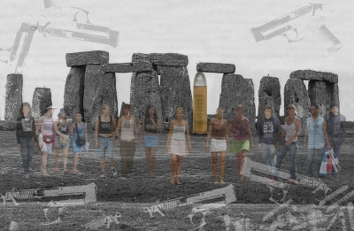 Barba, LLuis (Barcelona)StonehengeDe la serie: Otras realidades.