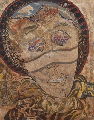 """Rostro"", 1976. Armando Cardona Torrandell"