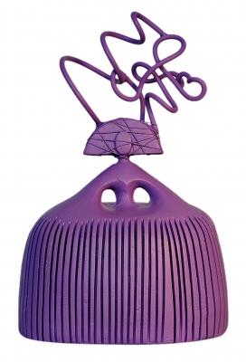 Gema García (Uceda, 1967). Georgia púrpura