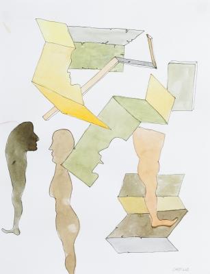 """Formas"". Jorge Castillo Casalderrey"