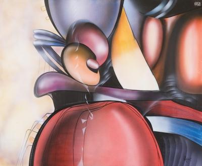 VALDIVIA ARANIBAR, Jorge (La Paz, Bolivia, 1948)Sin título, 1989.
