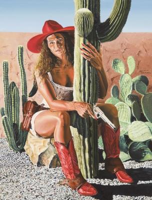 """""""Cowgirl"""". BRUTCHER, Teresa"""