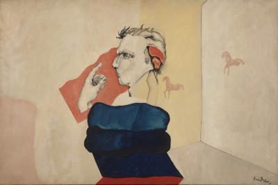 """Personaje"", 1968. ARRANZ BRAVO, Eduardo"