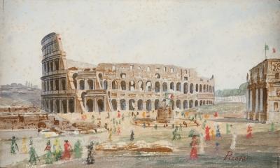 """El Coliseo, Roma"". PÍCOLO LÓPEZ, Manuel"
