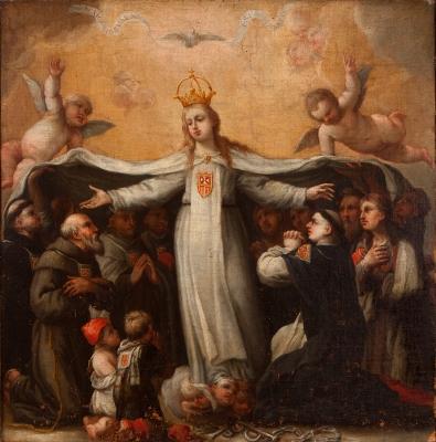 """""""Virgen de la Misericordia"""" Escuela española de los sig"""