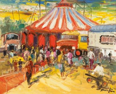 """""""Circo rumano"""". REVERTE OLIVA, Juan Antonio"""