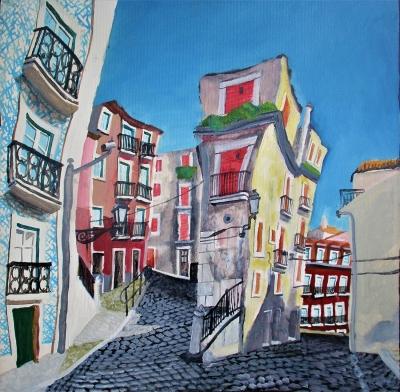 Adolfo P Suárez (Gijón, 1976)Alfama, Lisboa.
