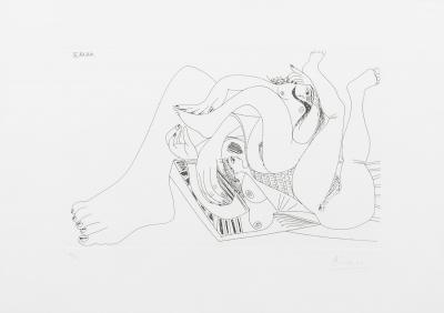 Pablo Picasso (Málaga, 1881 – Mougins, Francia, 1973).