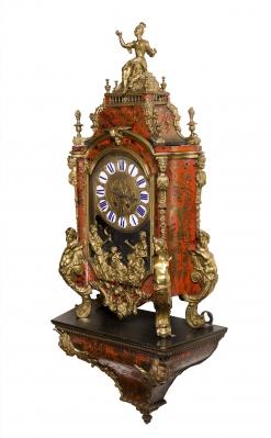 Reloj con ménsula de estilo Napoleón III; Francia, prin