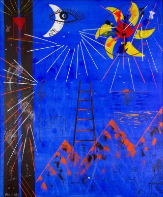 CALZÓN, ALICIA (Oviedo, 1961)Lágrimas en pintura.