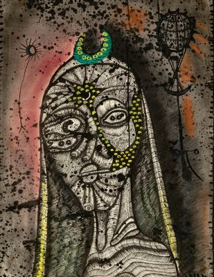 JOAN PONÇ (Barcelona, 1927 - Saint-Paul, France, 1984).No title.