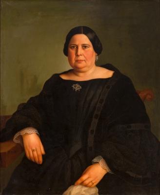 """""""Retrato de dama"""" MADRAZO Y KUNTZ, Federico de"""