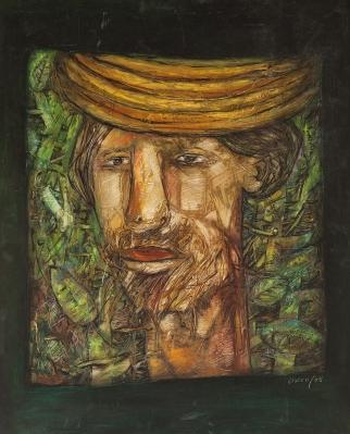 """""""Retrato de campesino"""" Eduardo Roca Salazar """"Choco"""""""