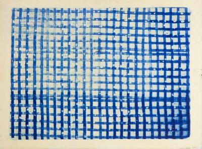 MURADO, Antonio (Lugo, 1964). Redes azules, 1995