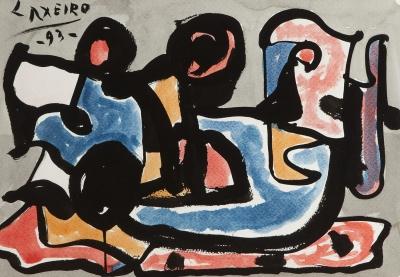 """""""Composición"""", 1993. Jose Laxeiro"""