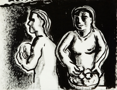 """""""Mujeres gallegas"""". MANUEL COLMEIRO GUIMARÁS"""
