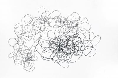 """Expresionismo abstracto #1"". 2015. DUART, DANIEL"