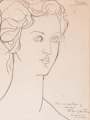 """""""Elsa"""", 1963. JOSÉ OTERO ABELEDO, """"LAXEIRO"""""""