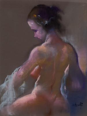 """Desnudo femenino"".  JAVIER VARELA GUILLOT"