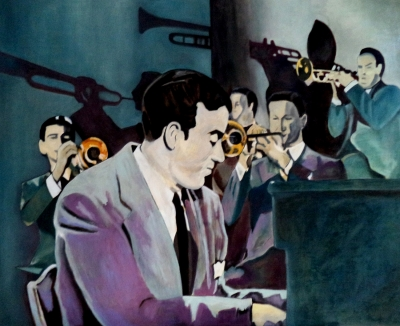 "DANIEL CALATAYUD (Valencia,1973).""Amazing Miller's Band""."