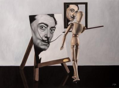 Soraya Güell (Girona, 1985). Autorretrato