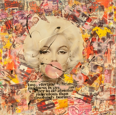 """""""Marilyn"""", 2016. Thierry Auger"""