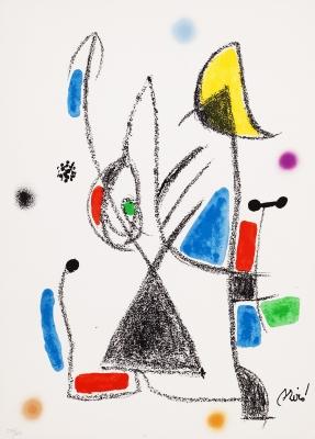 """Variaciones acrósticas"". Joan Miró i Ferrá"