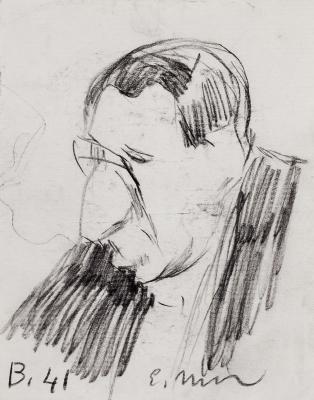 ELISEO MEIFRÉN ROIG (Barcelona, 1859 - 1940).Male portrait.