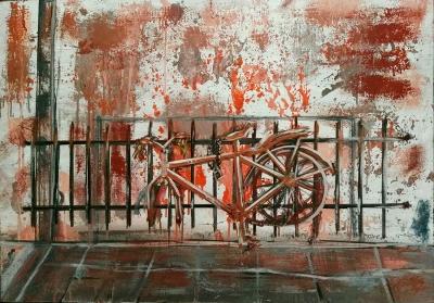 Juan Antonio Galindo Martin (Granada, 1962).La bici.