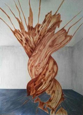 JUAN ANTONIO GALINDO (Granada, 1962).El árbol de la vida.