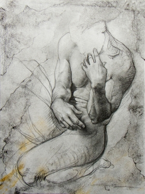 (dibujo); 43 x 33 cm. IVAN RUIZ .