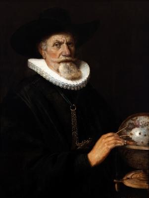 """""""Retrato del geógrafo Ticho Brache"""" Thomas de Keyser"""