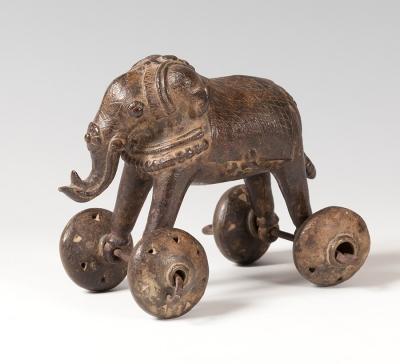Toy elephant. Khajuraho, India, 17th century.